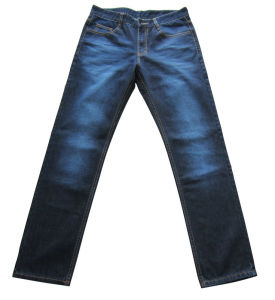 Blue Color Washed Unisex Jeans