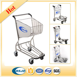 Airport Hand Shopping Luggage Baggage Passenger Trolley for pictures & photos