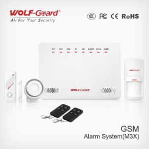 Wireless GSM Home Burglar Alarm with Timing Arm / Disarm Function pictures & photos