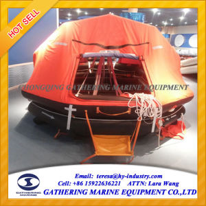 Throw Over Board Self Righting Inflatable Liferaft for 25 Man pictures & photos