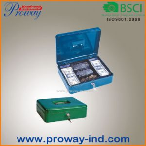 High Quality Metal Cash Box Made in China pictures & photos