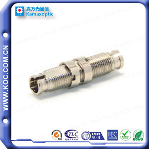 DIN/APC Metal with Zirconia Sleeve Fiber Optic Adapter pictures & photos