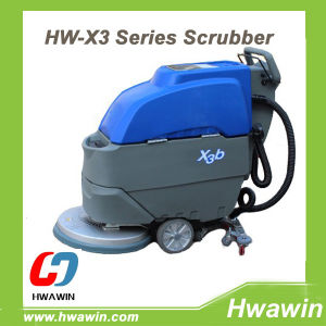 Wire Type Electric Warehouse Floor Scrubber Machine pictures & photos