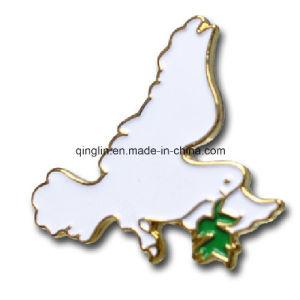 Customize Pigeons Shape Soft Enamel Badge Pin/Lapel Pin (QL-Hz-0021) pictures & photos