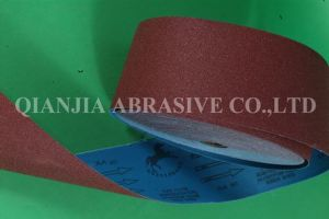 115mm*50m Aluminium Oxide Abrasive Cloth/Sand Cloth