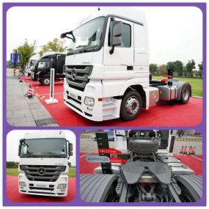 New Condition 4*2 Drive Wheel Beiz Tractor Head Trucks pictures & photos
