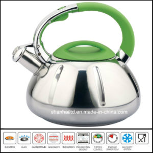 3 Step Capsule Bottom Stainless Steel Kettle pictures & photos