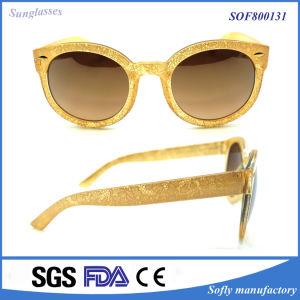 Popular Fashion Classic Brand Designer Round Frame Lens Sunglasses pictures & photos