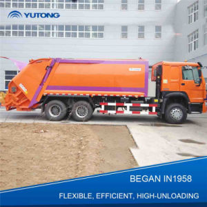 20 M3 Cheap Garbage Compactor Truck for India
