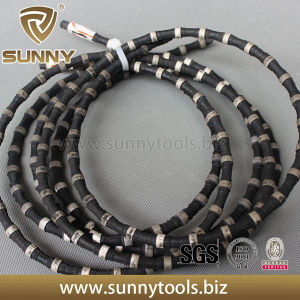 Rubber+Spring Diamond Wire Saw for Concrete/Granite pictures & photos