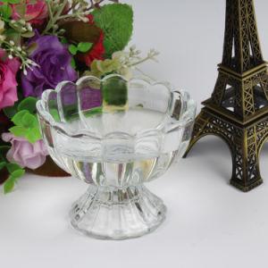 Hot Sale Glass Cup Diamond Ice Cream Mug pictures & photos