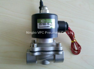 Zs Series Stainless Steel Solenoid Valve with Flange pictures & photos