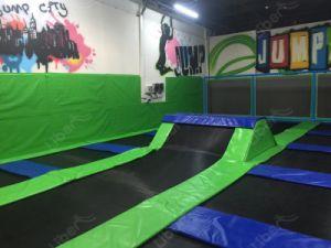 Children′s Trampoline Gymnastic Rectangular Trampoline Smalll Size Trampoline pictures & photos