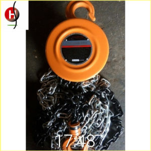 Top Quality Portable Hsz 2t 3m Chain Hoist pictures & photos