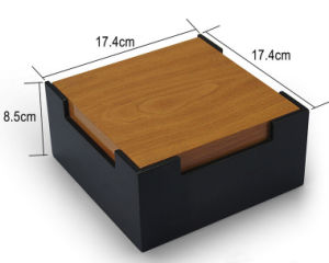 Square Hinged Packaging Wooden Box pictures & photos