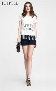 Fring Cotton Print Women T Shirt pictures & photos