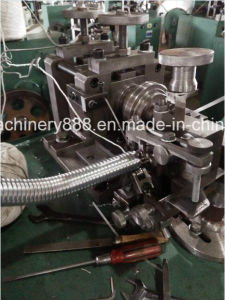 Single Interlocked Flexible Metal Tubing Making Machine pictures & photos