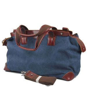 Genuine Leather Handle Military Sport Duffel Washed Canvas Travel Bag (RS-6831A) pictures & photos