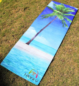 Slip-Resistance Natural Rubber Yoga Exercise Mat pictures & photos
