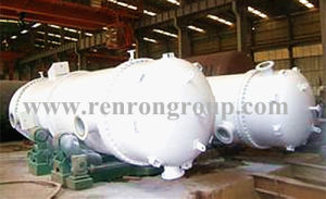 Titanium Steel Industrial Medium Pressure Machinery Heat Exchanger Reboiler R-01