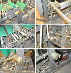 Nonwoven Fabric D-Cut Bag Making Machine (XY-400/600/700/800) pictures & photos