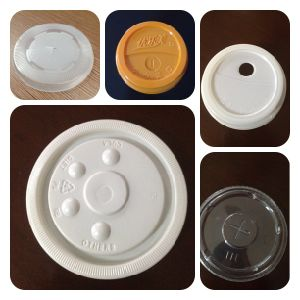Coffee/Drinking/Water Plastic Lid Forming Machine (PP-500) pictures & photos