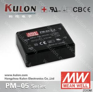Meanwell Power Supply Pm-05 3.3V/5V/12V/15V/24V AC DC PCB Switching Power Supply