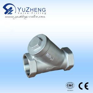 Industrial Ss 304 Threaded Strainer pictures & photos
