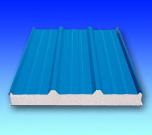 Factory Popular Cold Room Corrugated EPS Sandwich Wall Panels/Wall Panels/Decoration EPS Sandwich Panel pictures & photos