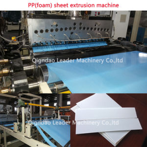 PP Foam Sheet/Plate Making Machine pictures & photos