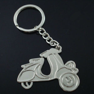 Promotional Gift Zinc Alloy Lady Motorcycle Shape Key Chain (F1369) pictures & photos