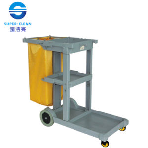 Janitor Cart (with cover) pictures & photos