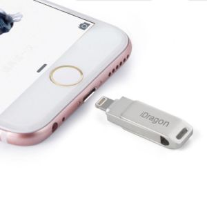 Dual USB Flash Drive Mobile Phone Pen Drive Lightning for iPhone USB Driver pictures & photos
