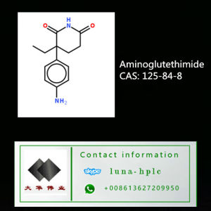 Aminoglutethimide API 125-84-8 Pharm Grade Aminoglutethimide pictures & photos