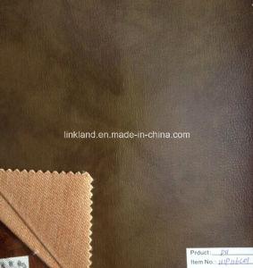 Low Price High Quality Classical PU Sofa Leather (U1P116C01)