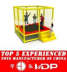 2017 Children Kids Outdoor/Indoor Playground with TUV-GS\Ce\En 1176\SGS\Ohsas18001\ISO9001\ISO14001 Certificate -Trampoline New Model 2015 HD15b-129e pictures & photos
