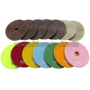 100mm High Quality Meta Resin Wet Polishing Pads pictures & photos
