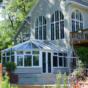 Aluminum Sun Room with Folding Conservatory Doors (FT-S) pictures & photos