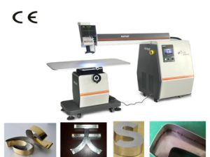 Exact Jointing Two Different Metal 200W YAG Laser Welding Machine pictures & photos