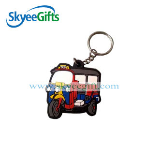 Promotional Cheap Custom 3D Soft PVC Keychain pictures & photos