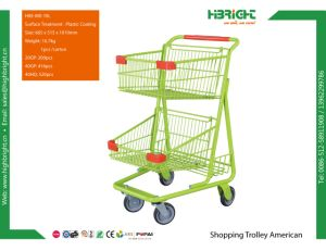 Chromed Duty Free Shopping Cart Shopping Trolley Airport Trolley pictures & photos
