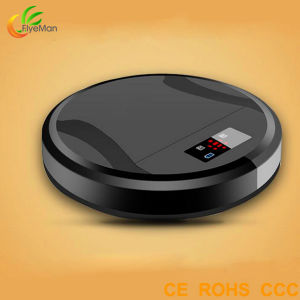 New Design and Patented Robot Sweeper with LED Screen pictures & photos
