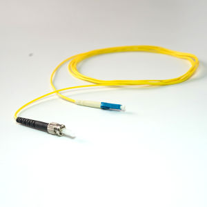 LC-St PVC Jacket Simplex Sm Fiber Optic Patch Cord pictures & photos