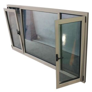Powder Coated Aluminum Tilt Turn Window with Ce Certificate (TS-1143) pictures & photos