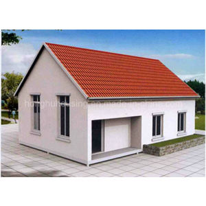 Good- Looking Light Steel Ready-Made Slop Roof House for Living pictures & photos