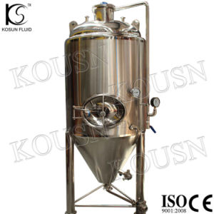 1000L Stainless Steel Inox Cooling Jacket Beer Fermentation Tank/Conical Fermentor pictures & photos