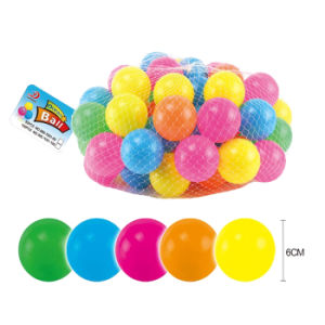 Wholesale 6cm Colorful PE Plastic Pit Ball (10235294) pictures & photos
