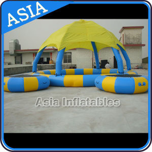 High Quality Inflatable Pools with Roof for Water Park pictures & photos
