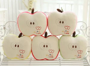 Lovely Emoji Pillow with Apple Shape pictures & photos