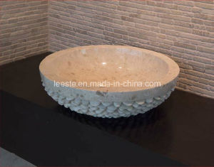Beautiful Black Stone Marble Sink for Bathroom and Kitchen pictures & photos